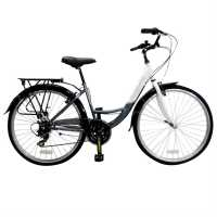 Muddyfox Voyager 100 Ladies White/Grey Шосейни и градски велосипеди