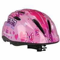 Dunlop Kids Cycling Helmet Pink Каски за колоездачи