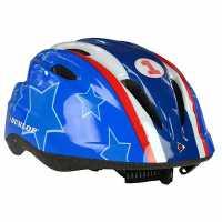 Dunlop Kids Cycling Helmet Blue Каски за колоездачи