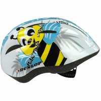 Dunlop Kids Cycling Helmet Blue/Yellow Каски за колоездачи