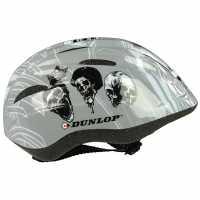 Dunlop Kids Cycling Helmet Grey Каски за колоездачи