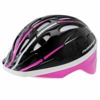 Muddyfox Recoil Helmet Junior Black/Purple Каски за колоездачи