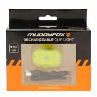 Muddyfox Clip Rechargeable Clip Light Yellow Колоездачни аксесоари