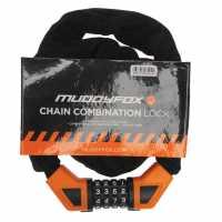 Muddyfox Chain Combination Lock Black Колоездачни аксесоари
