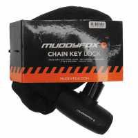 Muddyfox Chain Key Lock Black Колоездачни аксесоари