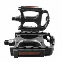 Muddyfox Plastic Mtb Pedals Black Колоездачни аксесоари