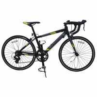 Muddyfox Race24 Black/Lime Шосейни и градски велосипеди