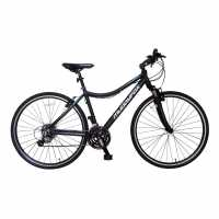 Muddyfox Tempo 200 Hybrid Bike Silver/Coral Планински велосипеди
