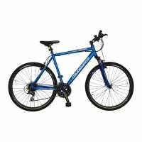 Muddyfox Tempo 300 Hybrid Bike Blue Планински велосипеди