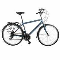 Muddyfox Voyager 100 City Bike White Шосейни и градски велосипеди