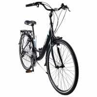 Muddyfox Voyager 200 Ladies City Bike Black Шосейни и градски велосипеди
