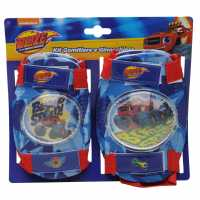 Blaze And The Monster Machines Protective Pads Childrens Blue Детски велосипеди