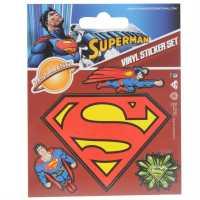 Character Винилови Стикери Лот Vinyl Sticker Set Superman Подаръци и играчки