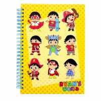 Sale Ryans World A5 Notebook Ryans World Канцеларски материали