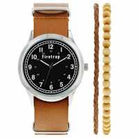 Firetrap Nato Watch Tan/Blk Часовници