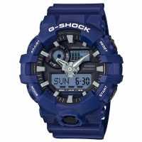 Casio Ръчен Часовник С Хронограф Mens G Shock Alarm Chronograph Watch Blue Часовници