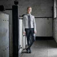 Dublin Joda Zip Thru Top Charcoal Дамски суичъри и блузи с качулки