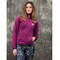 Horseware Alby Technical Softshell Top Ladies Berry Дамски долни дрехи