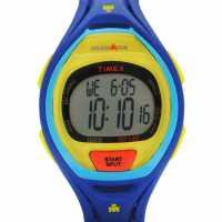 Timex Мъжки Часовник Sleek 50 Watch Mens Blue Часовници
