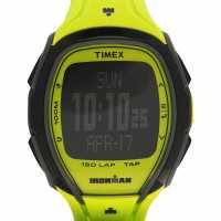 Timex Мъжки Часовник Sleek 150 Watch Mens Neon Green Часовници