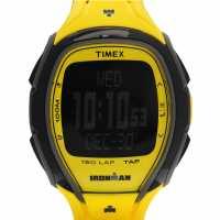 Timex Мъжки Часовник Sleek 150 Watch Mens Neon Yellow Часовници