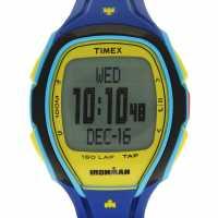 Timex Мъжки Часовник Sleek 150 Watch Mens Blue Часовници