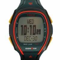 Timex Мъжки Часовник Sleek 150 Watch Mens Green Часовници