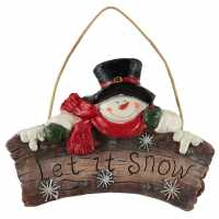 Mega Value Store The Spirit Of Christmas Snow Ornament 94 Snowman Коледна украса