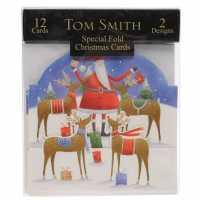 The Spirit Of Christmas 12 Whimsical Christmas Cards - Коледна украса