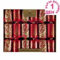The Spirit Of Christmas Коледни Крекери 6 Premium Christmas Crackers - Коледна украса