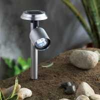 Mega Value Store Garden Essentials Solar Spot Lights Bright White Домашни стоки