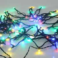 The Spirit Of Christmas 100 Led String Timer Lights Multi Коледна украса