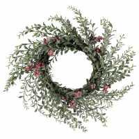 Mega Value Store Венец С Плодове The Spirit Of Christmas Red Berry Wreath 94  Коледна украса