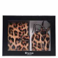 Mega Value Store Dune London Passport Holder LEOPARD PATENT Дамски чанти