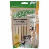 Mega Value Store Smart Choice World Of Pets Marrow Bone Chicken Flavoured Rolls Chicken Магазин за домашни любимци