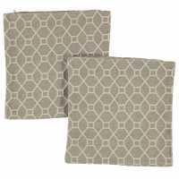 Linens And Lace 2Pk Geo Chenil Cc92 Mink Домашни стоки
