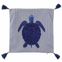 Linens And Lace Turtle Cushion Covers Blue Домашни стоки