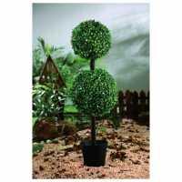 Mega Value Store Garden Essentials Essentials Pre Lit Topiary Tree  Домашни стоки