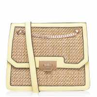 Mega Value Store Dune London Woven Bag Lemon Дамски чанти