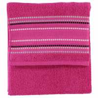 Mega Value Store Linens And Lace Border Stitch Towel Popculture Хавлиени кърпи
