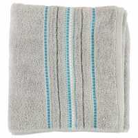 Linens And Lace Border Stitch Towel Mid Garden Хавлиени кърпи