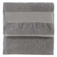 Linens And Lace Plain Dye Towels Mid Grey Хавлиени кърпи