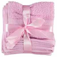 Linens And Lace Plain Dye Towels Powder Pink Хавлиени кърпи