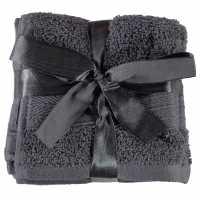 Linens And Lace Heatons Plain Dye Towels AW17 Grey Хавлиени кърпи