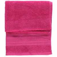 Mega Value Store Linens And Lace Plain Dye Towels Peony Pink Хавлиени кърпи