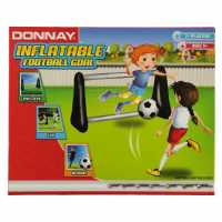 Donnay Маса За Футбол С Джаги Inflatable Football Goal  Подаръци и играчки