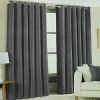 Mega Value Store Linens And Lace Faux Silk Curtains Charcoal Ръкавици шапки и шалове