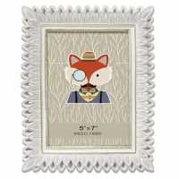 Stanford Home Silver Petals Frame 92 Silver Домашни стоки