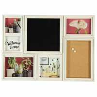 Stanford Home 6App Frame W Board 92 White Домашни стоки