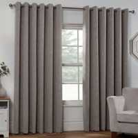 Linens And Lace Boucle Curtain 92 Mink Домашни стоки